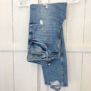 Zara Distressed Jeans Size 8